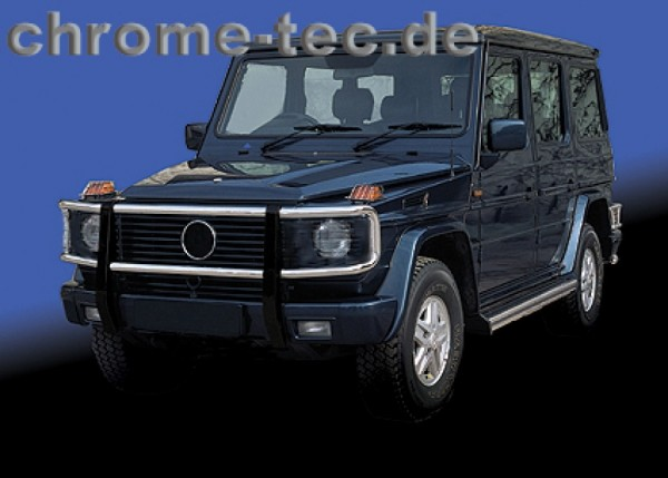 Front Protection Bar without headlight grilles