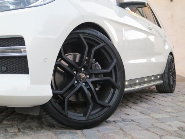 Felgensatz RR Schwarz Matt 22'' - Mercedes ML W166