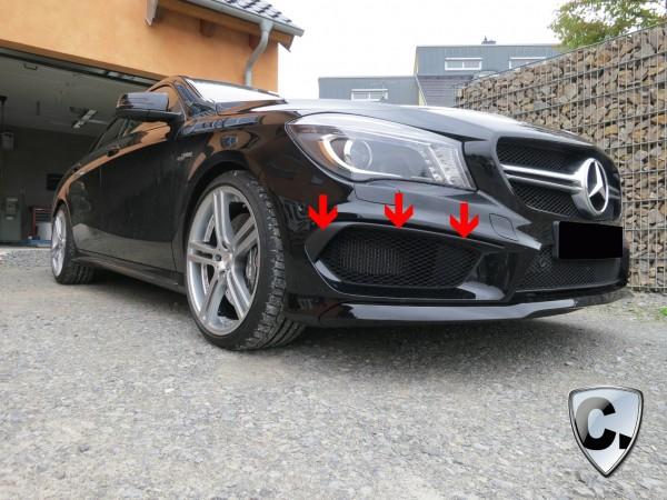 Mercedes CLA W117 Frontspoiler Flaps