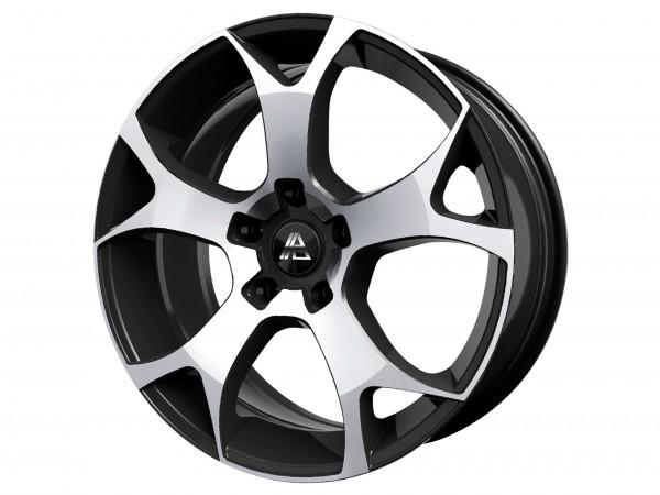 Wheel Kit GH Diamond Black 22'' - Mercedes ML W166