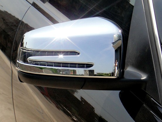Mercedes CLA W117 - Chrome Mirror Cover Set