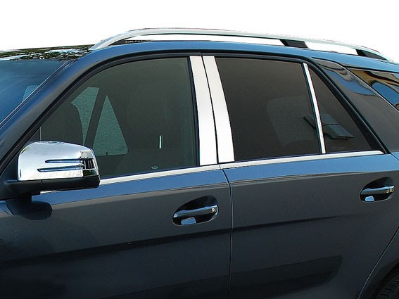 Chromed pillar trims - Mercedes ML W166