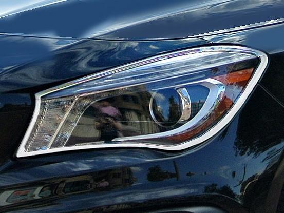 Mercedes CLA W117 - Chrome Headlight Frames