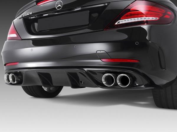 Heckdiffusor mit Doppelendrohren für Mercedes SLC R172