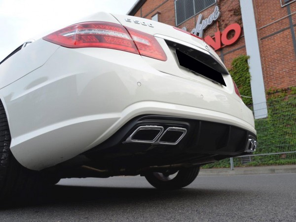 Black-Series Style Exhaust Upgrade for Mercedes E-Coupe and Cabrio Prefacelif