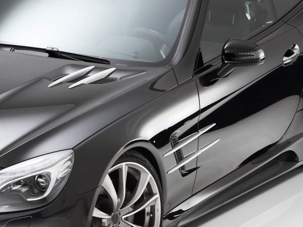 GT-R Fin Set 12pcs Galvanosilver - Mercedes SL R231