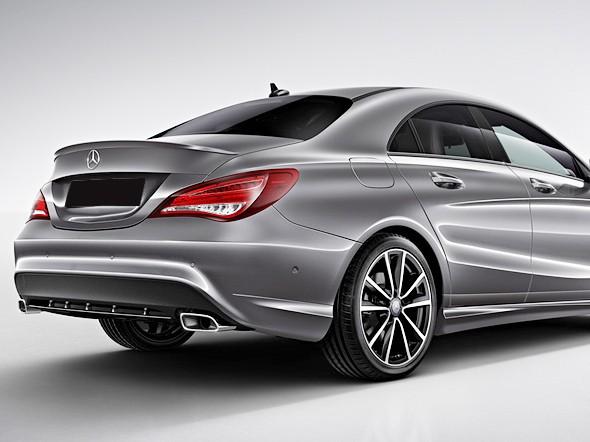 Mercedes CLA W117 - Trunk Lid Spoiler AMG