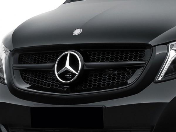 Einlamellen-Kühlergrill für Mercedes V-Klasse 447 Vor-FL mit 360 Grad-Kamera