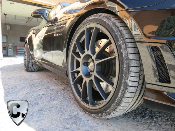 Rims O.Z 19'' Matt Graphite - for Mercedes SLK R172