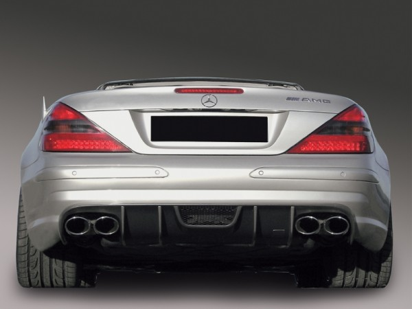 RS Rear Diffusor for AMG Styling + 55 AMG and 65 AMG