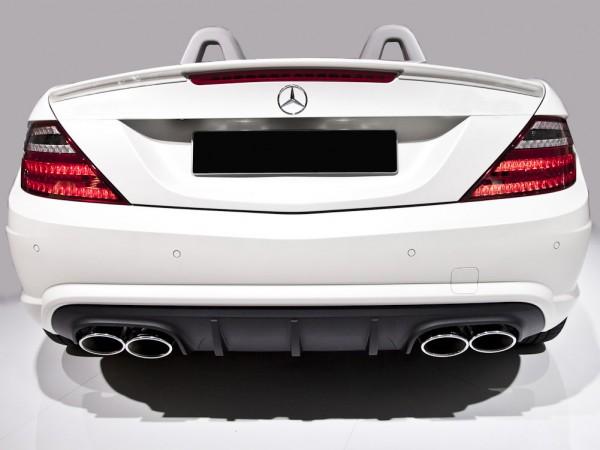 Mercedes SLK R172 - SLK 55 AMG Rear Diffusor