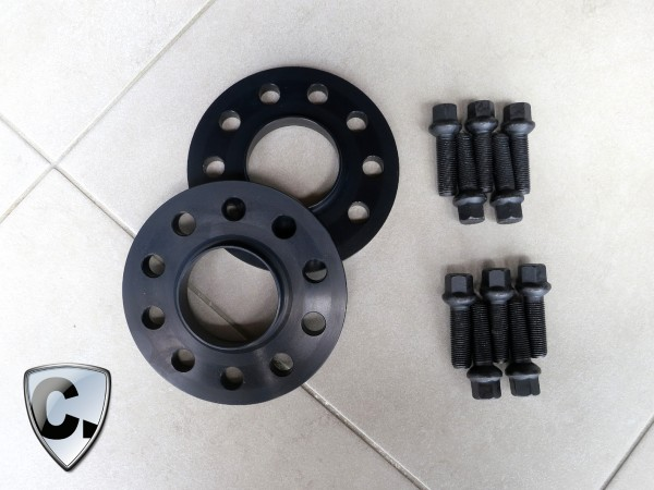 Wheel Spacers 30mm rear axle for Mercedes C63 AMG Coupe and Cabrio