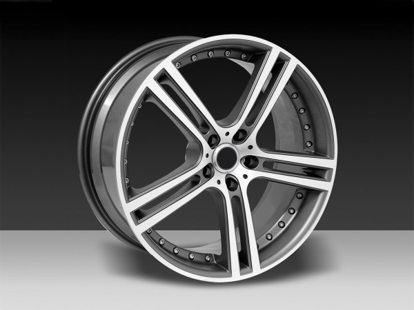 5SPOKE Anthracite 8,5 and 9,5 x 19'' - Mercedes SL R231