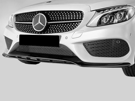 AMG Frontsplitter für Mercedes C-Klasse W205 mit AMG Paket
