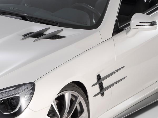 GT-R Finnensatz 12 tlg. Graphitgrau - Mercedes SL R231