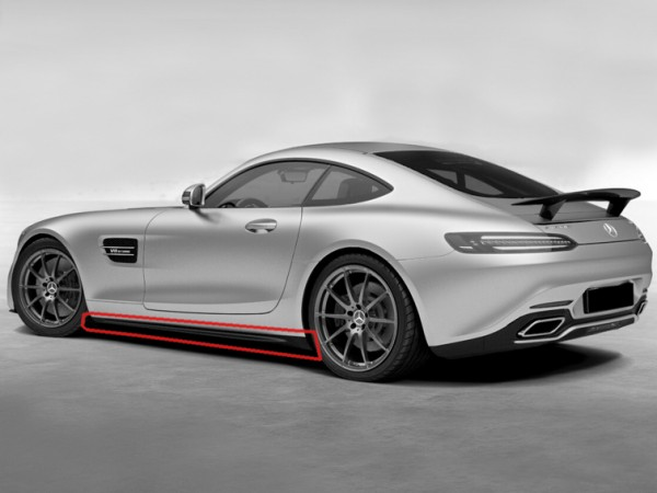 Sideskirt Kit for AMG GT and AMG GTS Facelift