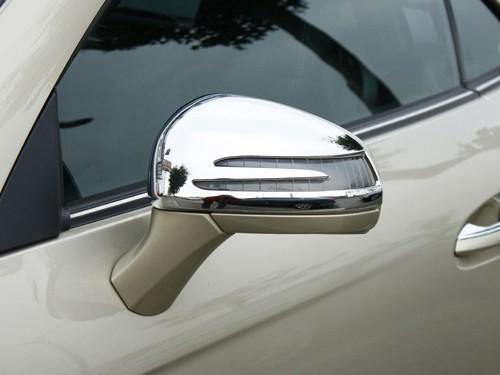 Chrom Spiegelkappen für Mercedes SLK R172
