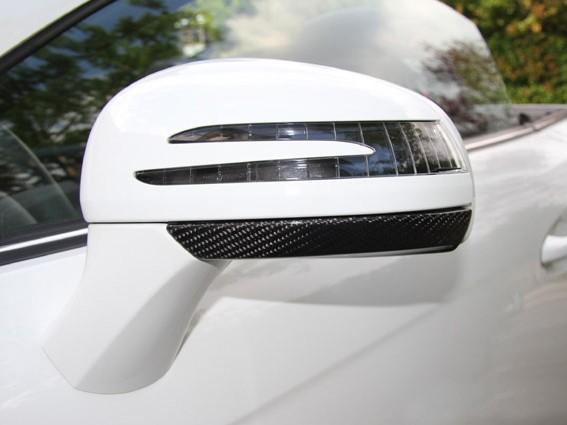 Carbon Unterteile Aussenspiegel für Mercedes SLK R172
