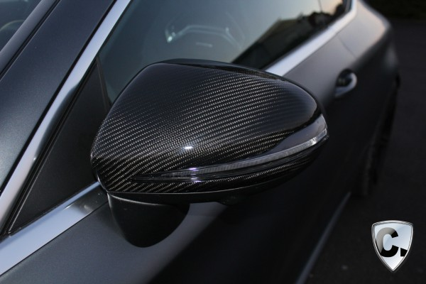 Carbon Side Mirror Covers for the C-Class Coupe C205