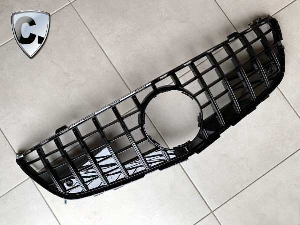 Mercedes SL R231 Panamericana STyle Kühlergrill schwarz