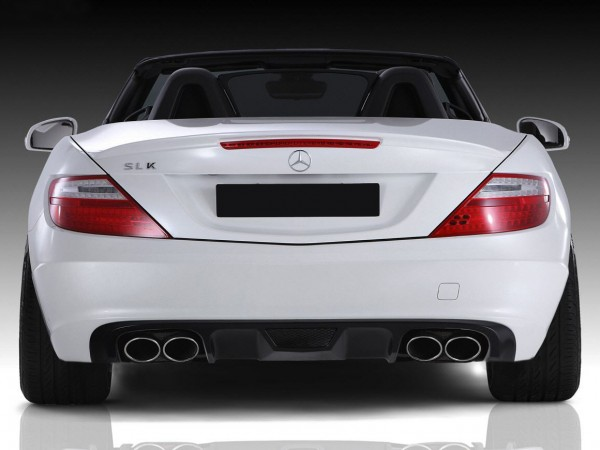 Mercedes SLK R172 - RS-Rearbumper Diffusor Small for Serie
