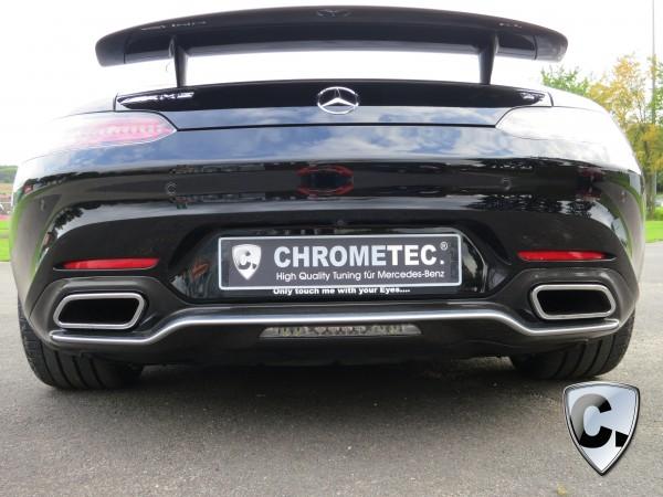 Carbon Heckdiffusor komplett für Mercedes AMG GT Coupe und Roadster