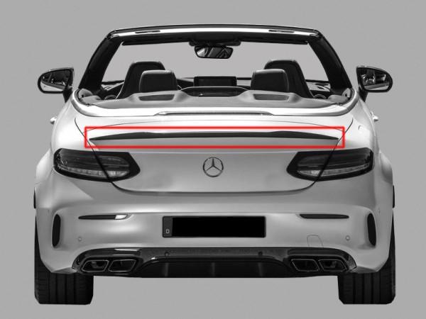 Rear Spoiler Lip AMG for Mercedes C-Class A205 Cabrio