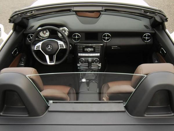 Glas Windschott Set für Mercedes SLK R172