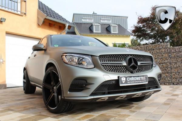 Felgensatz 19'' Concave schwarz matt für GLC SUV und Coupe