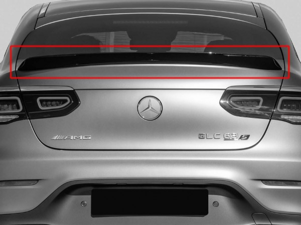 AMG Rear Spoiler Lip for GLC Coupe Facelift C253