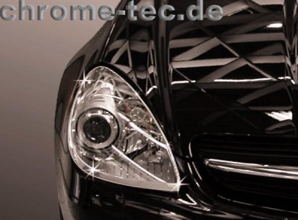 headlight chrom surrounds