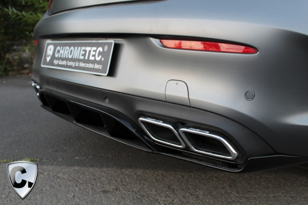 Rear Diffuser C63 Edition 1 for the C-Class Coupe and Cabrio C63 AMG