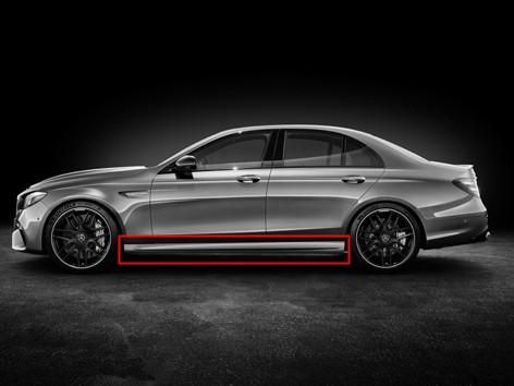 E63 AMG Seitenschweller für Mercedes E-Klasse Limousine und T-Modell W213