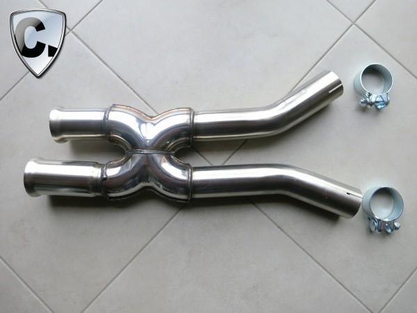 X-Pipe for Mercedes SLK 55 AMG