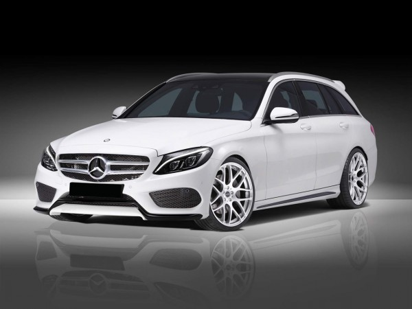 Front Spoiler Lip AMG Styling for the C-Class W205