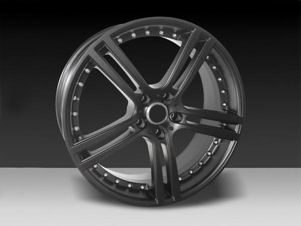 Felge 8,5 und 9,5 x 19'' 5SPOKE Schwarz Matt - Mercedes SL R231
