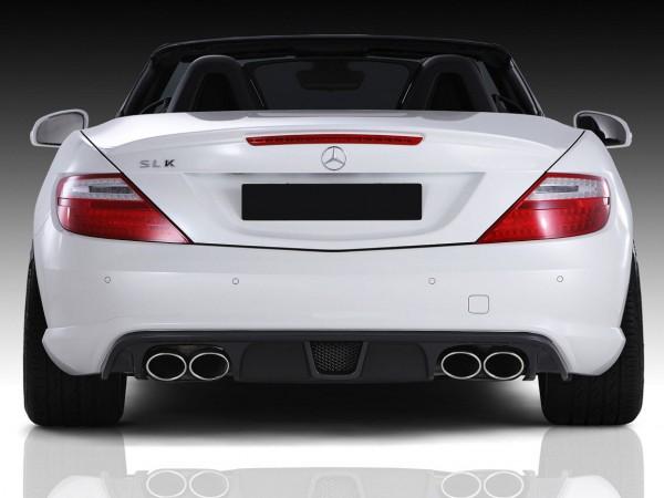 Mercedes SLK R172 - RS-Rearbumper Diffusor Large for Series