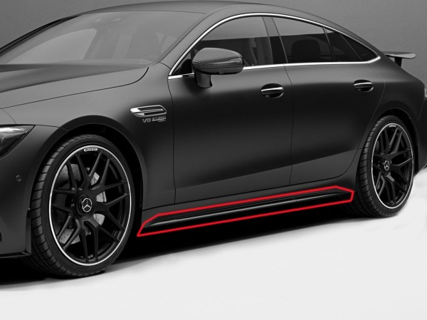 Sill strips Edition 1 for Mercedes AMG GT 4-door