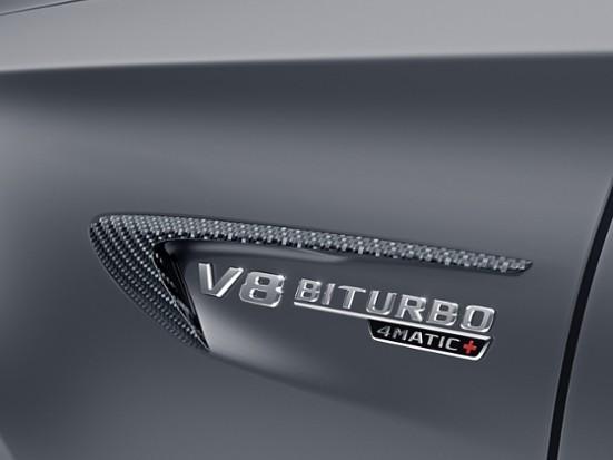 Kotflügelfinnen Carbon für Mercedes E63 und E63 S AMG W213
