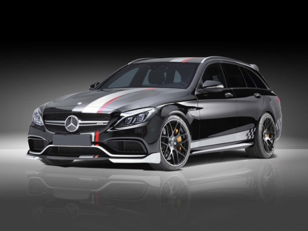 Wheelkit 20'' Cross Spoke CS20 black satin for Mercedes W205