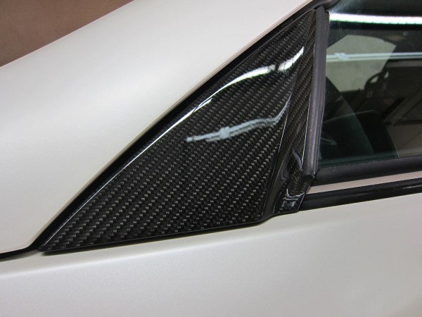 Mercedes SLK R172 Carbon Window Triangle