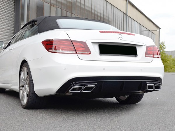 Black-Series Style Exhaust Upgrade for Mercedes E-Coupe and Cabrio Facelift