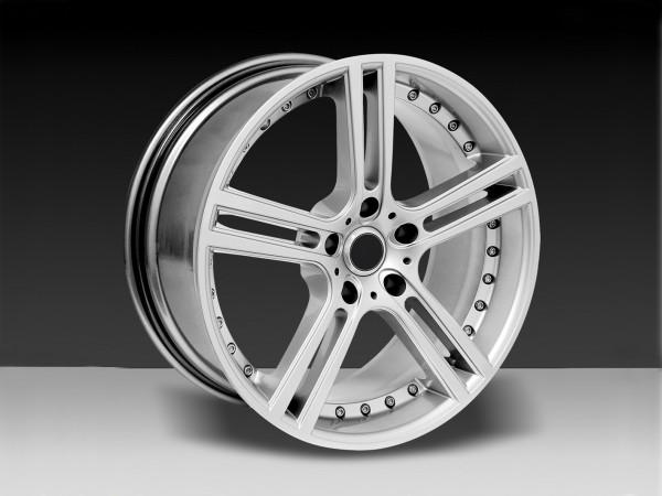 Felge 8,5 und 9,5 x 19'' 5SPOKE Silber - Mercedes SL R231