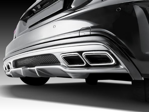 Heckdiffusor - Mercedes A-Klasse W176