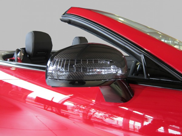 Mercedes SLK R172 Carbon Side Mirror Covers