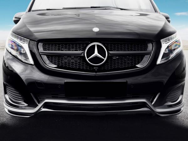 Frontspoilerlippe für Mercedes V-Klasse 447 ohne AMG-Line