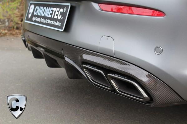 Heck Diffusor Carbon für das AMG C63 Coupe und Cabrio