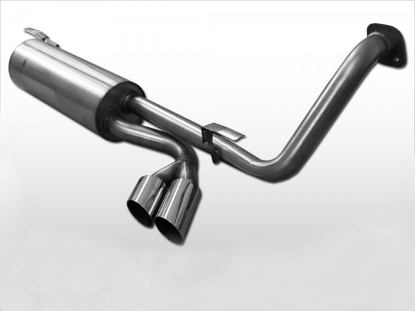 Sport Exhaust W463 with Sidesteps