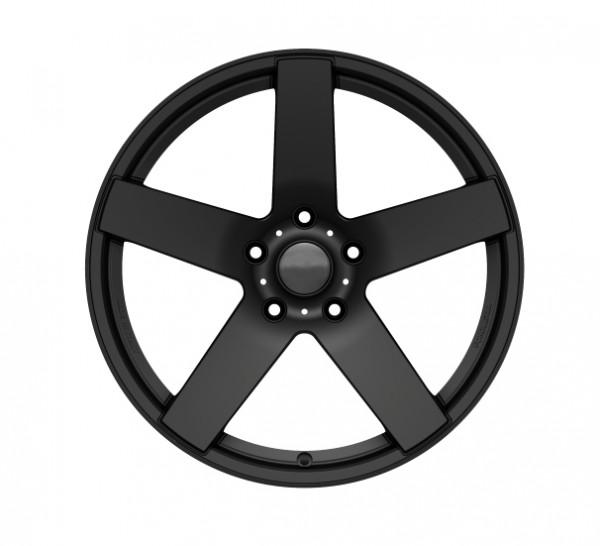 Alloy Rim Set CONCAVE black matt 22'' for Mercedes GLE Coupe C292