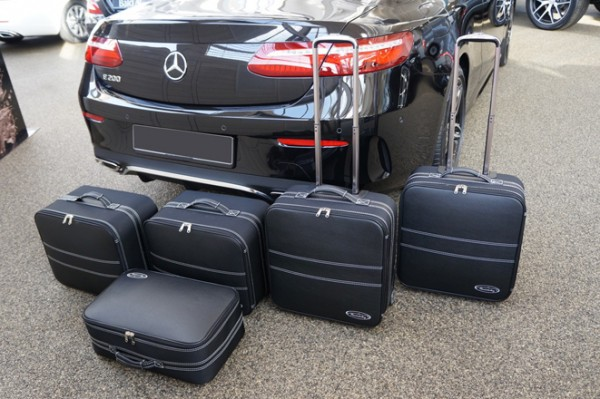 Roadsterbag Koffer-Set 5-teilig für Mercedes E-Klasse Cabrio A238